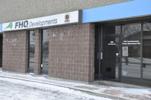 FHQ Developments Regina Office, photo by Brad Bellegarde.