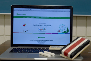 Horizon School Division and Greater Catholic Schools hosted Saskatchewan's first ever EdTechTeam Google for Education summit at Holy Cross High School in Saskatoon on Feb. 24 and 25. Photo by Harrison Brooks.