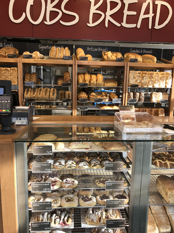 Cobs Bakery Counter