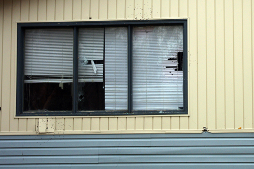 Regina shooting house damage