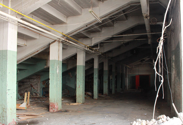 Inside the Old Exhibition Stadium