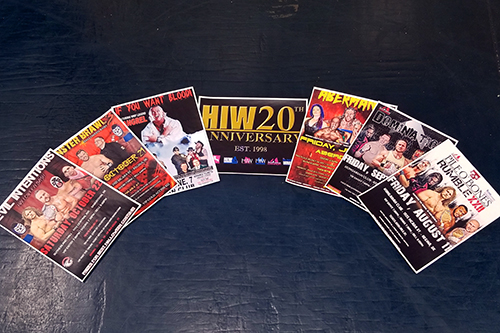 High Impact Wrestling has been putting on events across Canada for 20 years and is the longest continuously-running professional wrestling organization in the country. Photo illustration by Cory Coleman.