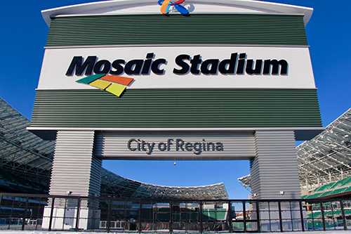 Mosaic Stadium. Photo by Kyle Griffin