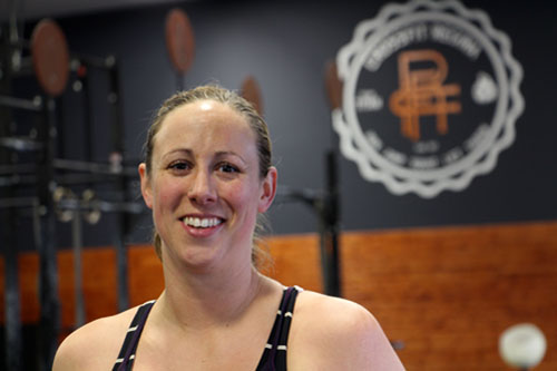 Kim Fleischhaker owns CrossFit Regina, and coaches the sport to more than 250 members. Photo by Taylor Rattray.