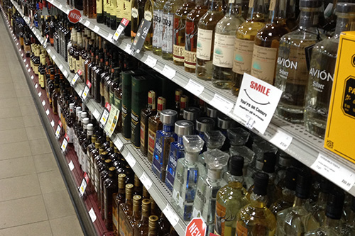 If the Sask Party is re-elected they've pledged to privatize 40 public liquor stores. Photo by Michael Joel-Hansen