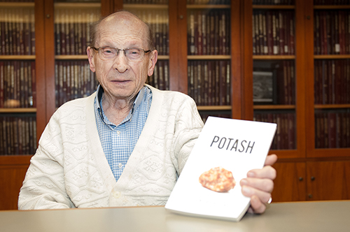 John Burton, author of Potash: An Inside Account of Saskatchewan's Pink Gold