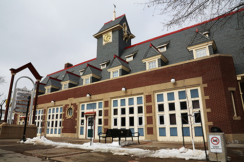 The Heritage Community Associations Headquarters is in the Old Fire Hall on 11th Avenue. Photo by Heidi Atter.